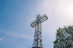 huge religious cross
