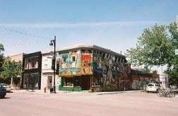 street art on shop