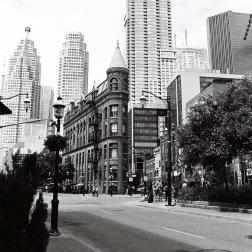 B&W toronto street