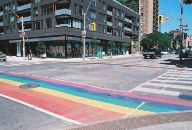 Pride crossing toronto