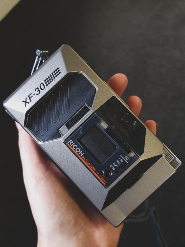 compact 35mm film camera