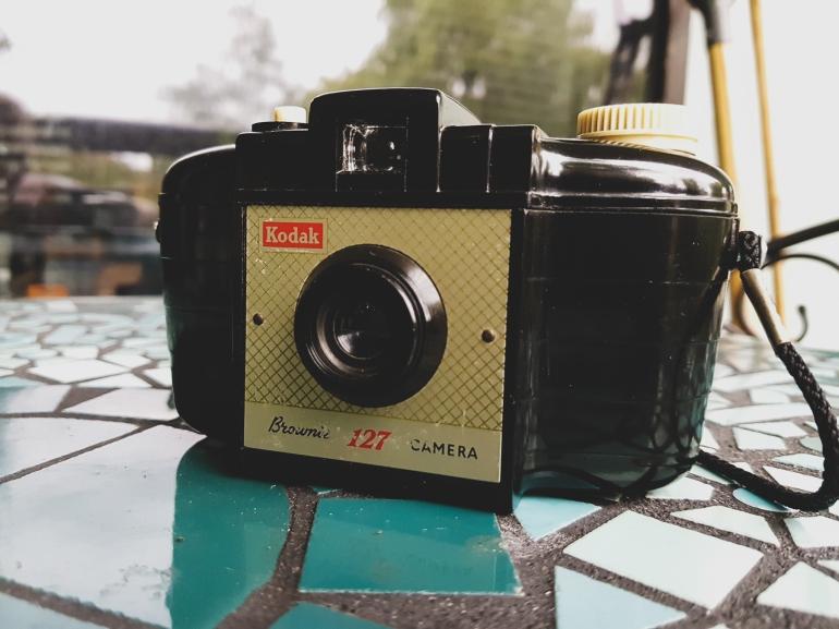 kodak brownie 127 film camera