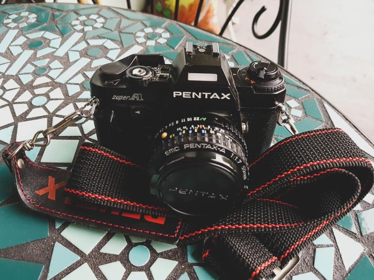 pentax super a 35mm film camera