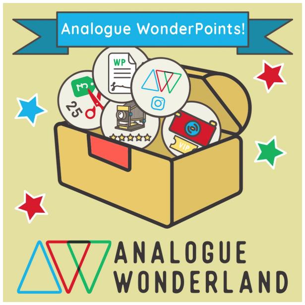 analogue wonderland wonderpoints