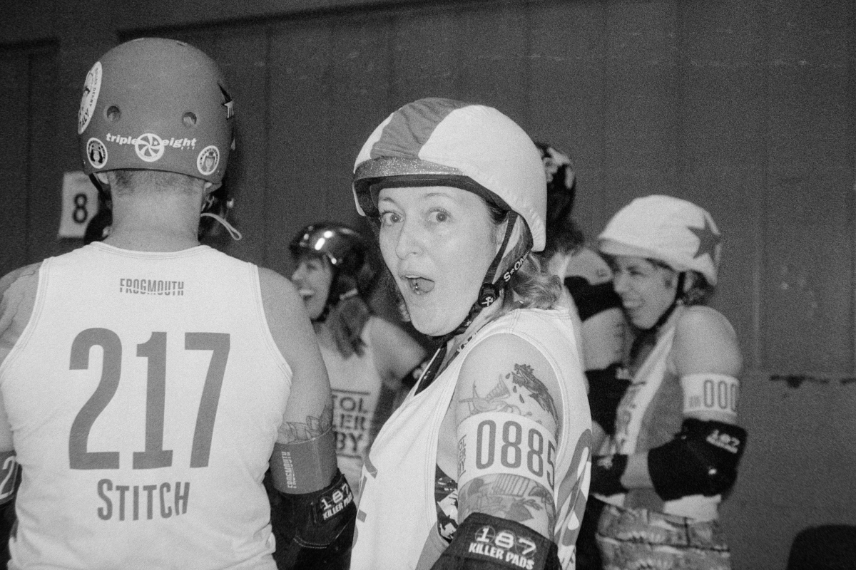 roller derby players ilford delta