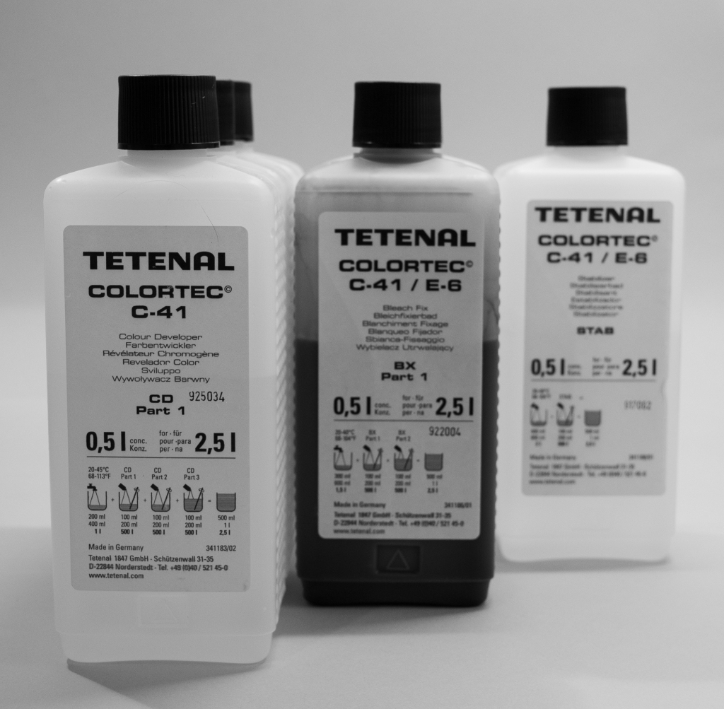 Tetenal colortec c-41 chemistry